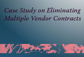 The best platform to eliminate multiple vendor contracts and to reduce risk in data integrity