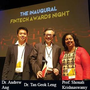 Dr. Andrew Ang,COO, Dr. Tan Geok Leng, CEO and Prof. Shonali Krishnaswamy, CTO, AIDA Technologies