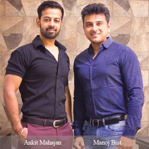 Ankit Mahajan, Founder and Manoj Bist,Founder , A&M Digi5 Studios