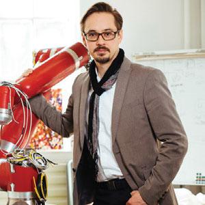 Nikolai Ensslen, Co-Founder & CEO,Andrija Feher, Co-Founder & CTO, Oshra Rodav COO, Synapticon