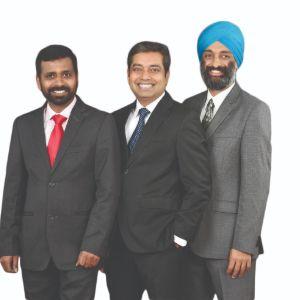 Co-Founders & Executive Directors,Kiran Kumar, Jaskaran Singh Bhogal and Ashok Kumar  , Profinch Solutions