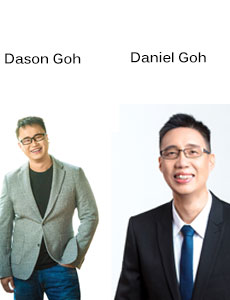 Dason Goh, CEO and Daniel Goh, CTO,, Detrack Systems