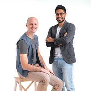 Co-founder & CTO,Saikrishnan Ranganathan, Co-founder & CEO and Max Pagel, SensorFlow