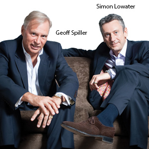 Co-Chairman,Geoff Spiller and Simon Lowater, GMS Group
