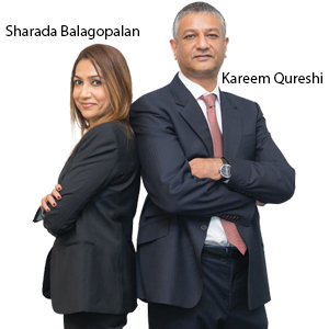 Managing Partner and Kareem Qureshi, Managing Director,Sharada Balagopalan, Star Solutions