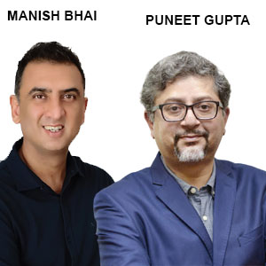 ,Manish Bhai, CEO and Co-Founder & Puneet Gupta, CTO and Co-Founder, CoantumLeap
