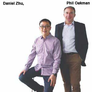 ,Daniel Zhu, CTO and Phil Oakman, CEO, EZswitch