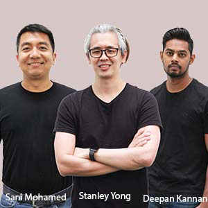 Head of Corporate Development; Head of Technology; Co-Founder and Chief Design Officer,Sani Mohamed; Stanley Yong; Deepan Kannan, Vettons