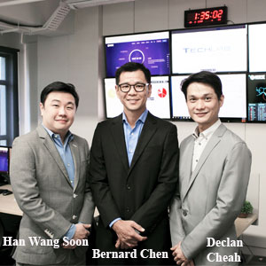 Bernard Chen,MD, techlab security