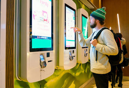 Digitizing Ticket Information Counters with Interactive Kiosks