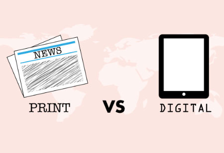 Print Vs Digital Media: What do Readers Prefer?
