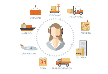 Crowdsourced Logistics: Untying the Supply Chain Knots