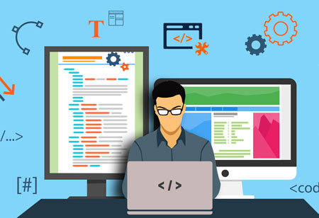 Changing trends in web design via web development