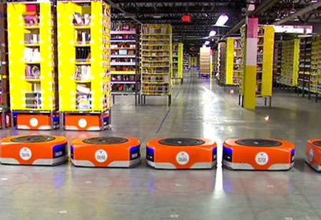 Robot-Driven Warehouses: Next-Gen Supply Chain Management